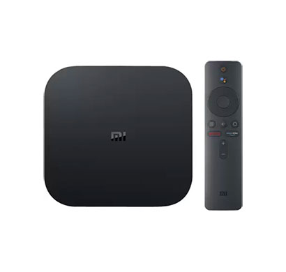 mi box 4k media streaming device (black)