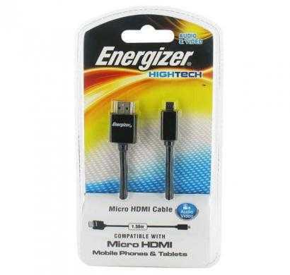 micro-usb cable for mobile phones & tablets - black