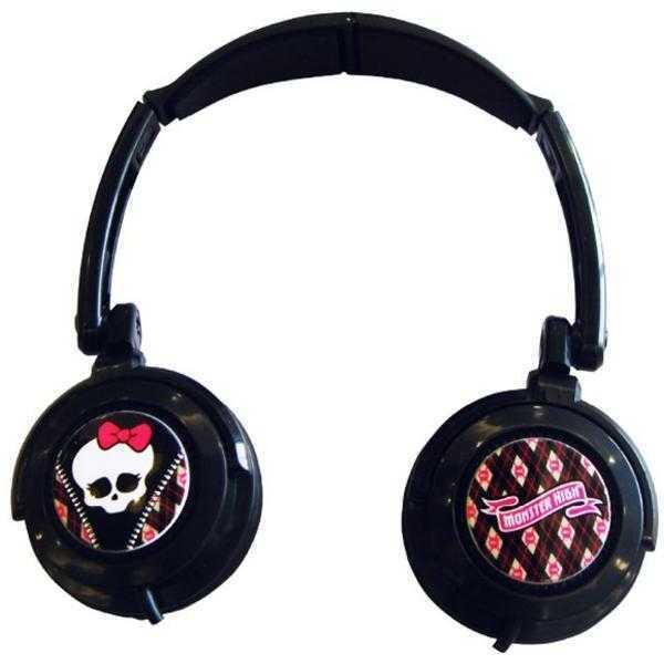 Monster High Lightweight & Compact Headphones