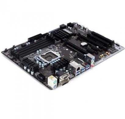 msi h170a pc mate lga 1151 intel h170 hdmi sata 6gb/s usb 3.1 usb 3.0 atx intel motherboard