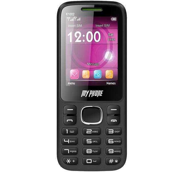 MY Phone K 1002 (Black & Green)