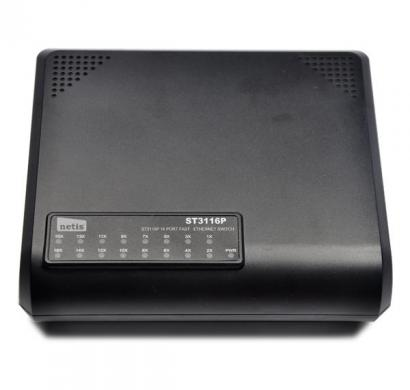 netis 16 port fast ethernet switch (st3116p)