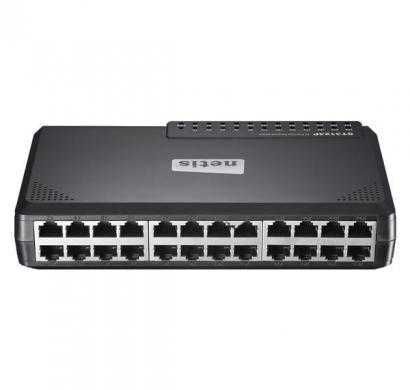netis 24 port fast ethernet switch (st3124p)
