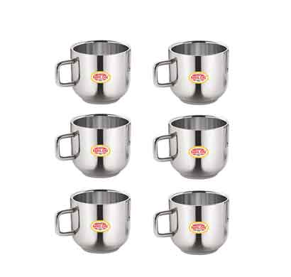 nirlon apple small teacup (100ml) 6 pcs set