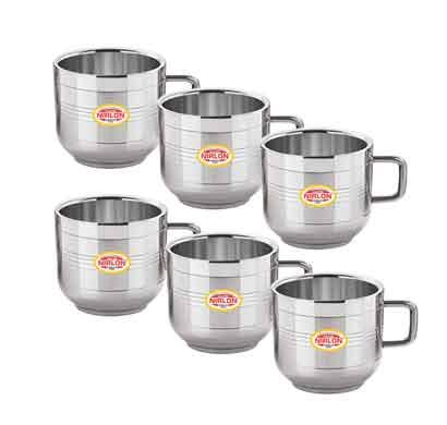 nirlon tiptop small teacup (100ml) 6 pcs set