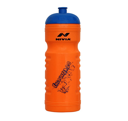 nivia encounter 2.0 sipper sports water bottle, 770 ml (orange)