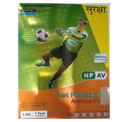 npav net protector anti-virus pro 2021 - 1 pc, 1 year
