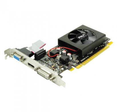 palit graphic card geforce gt 610 2gb ddr3, 64 bit, fan, crt dvi,hdmi