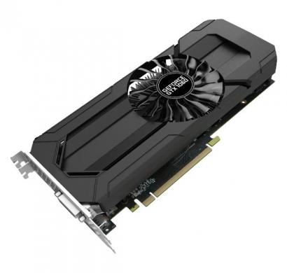 palit graphic card geforce gtx 1060 stormx 3gb gddr5, 192 bit, single fan, dvi,hdmi, 3-dp