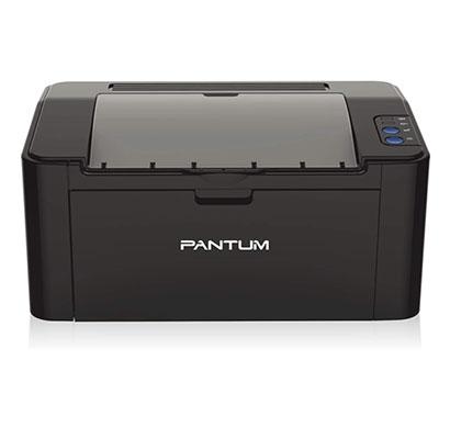 pantum (p2500w) single function wifi monochrome printer (black)