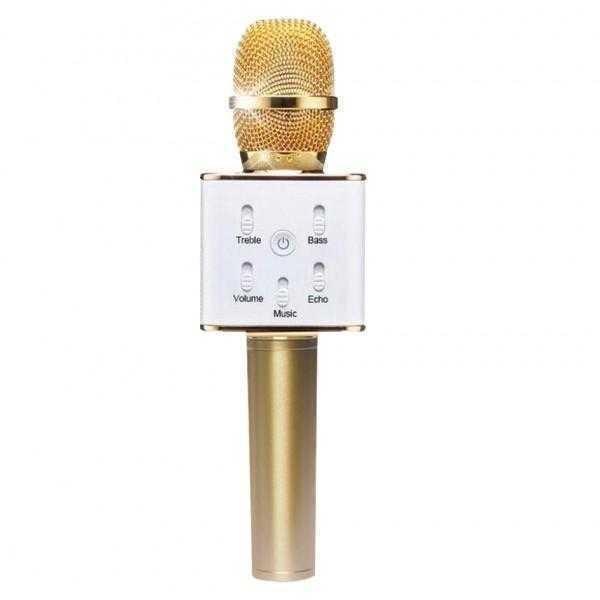Portable KTV K02 Wireless Speaker and Microphone