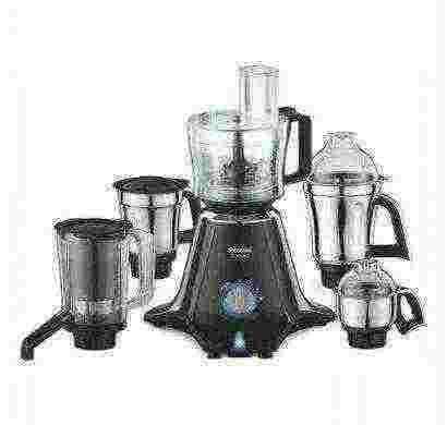 preethi zodiac 750 w juicer mixer grinder(black, 5 jars)