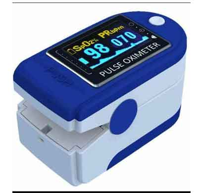 pulse oximeter (pr&spo2) with 6 months warranty