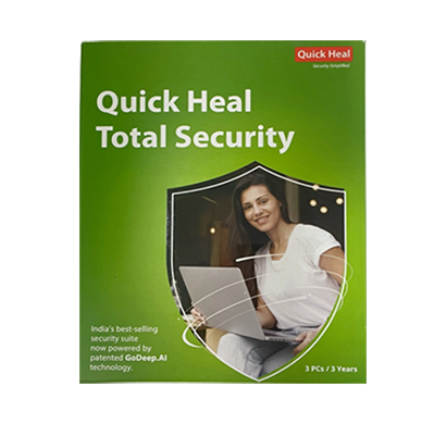 quick heal ts3 total security 3 user, 3 years