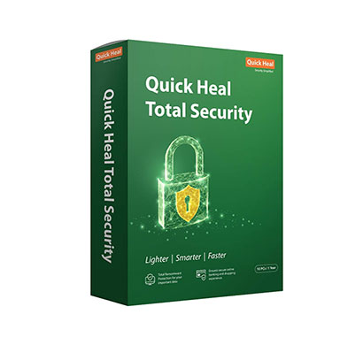 quick heal total security 10pc, 1 year (tr10)