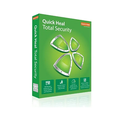 quick heal tr2 total security 2pc, 1year