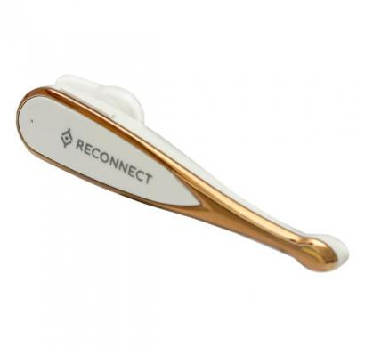 reconnect bth m-btv4.0 wireless bluetooth headset, white