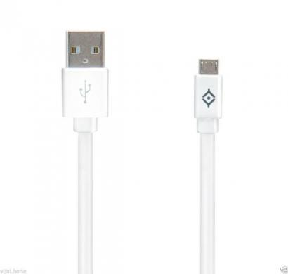 reconnect dnc umu-f charge/sync micro usb cable, white