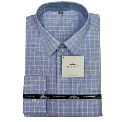 rev martin formal shirt cotton, full sleeves, different design (mix color)