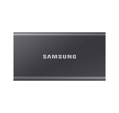 samsung t7 portable ssd 1tb usb 3.2 external solid state drive, gray