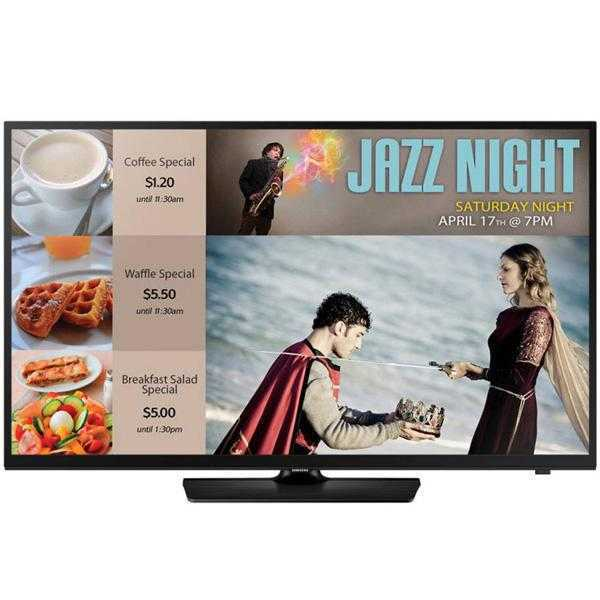 Samsung EB40D 101.6 cm (40) LED Commercial TV (HD Ready)