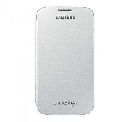 samsung ef-fi950bwegin galaxy s4 flip cover white (100% original)