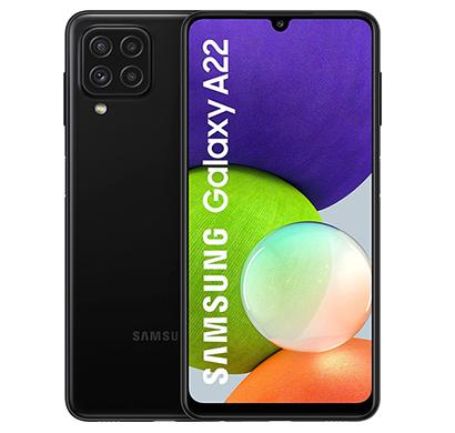 samsung galaxy a22 (6gb ram/ 128gb storage), mix colour