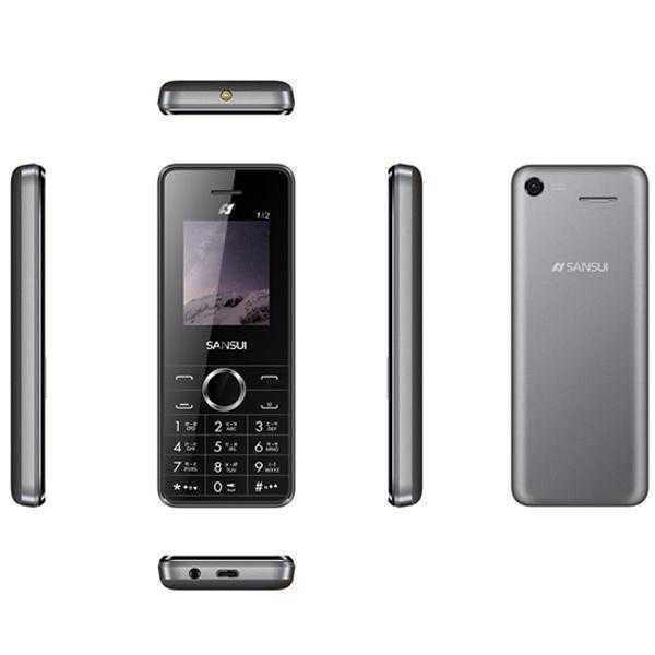 Sansui X42 Below 256 MB Black & Grey