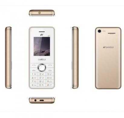 sansui z12 m2 white gold mobile phone