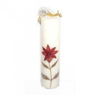 scented natural piller small candle
