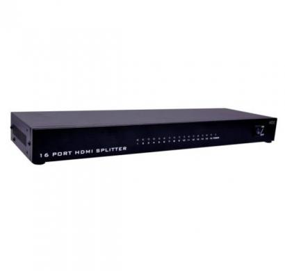 scm cable 1x16 hdmi splitter with 1.4