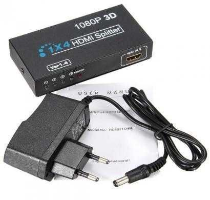 scm cable 1x4hdmi splitter with 1.4