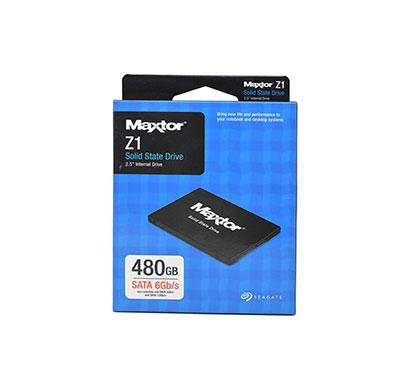 seagate maxtor z1 ssd 480gb 2.5 inch sata 6 gb/s internal solid state drive (ya480vc1a001)