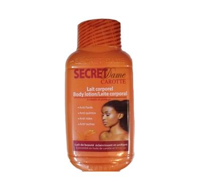 secret dame carrot lightening body lotion 50ml