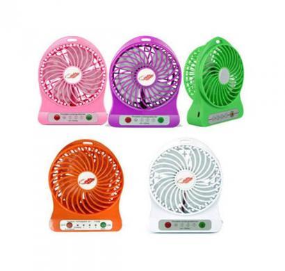 shri 4 blade rechargeable fan (assorted)