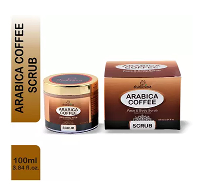 skinlicious arabica coffee scrub , 100 ml - no paraben