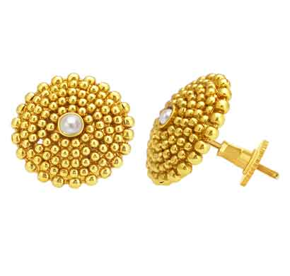 sukkhi dazzling gold plated earring for women (6615egldpp350)