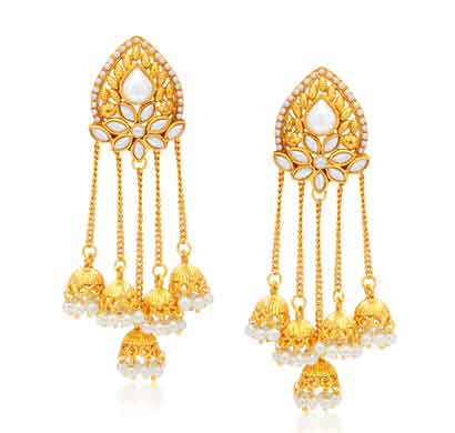 sukkhi stunning gold plated earring for women (6800egldpp850)