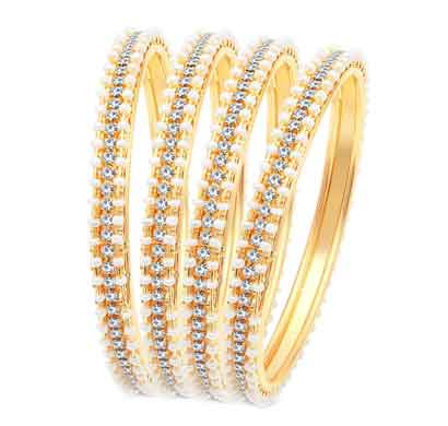sukkhi fascinating gold plated ad bangles for women pack of 4 (b71518adrl550_2.8)