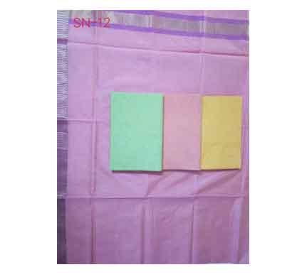 suvarshan kota red border saree (sn -12) cotton
