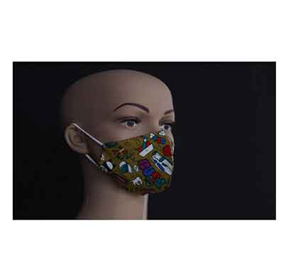 suvarshan gm kids printed face mask (4 to 12 years)