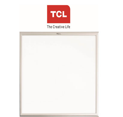tcl led ultra slim panel side lighting 1x1 18w-6000k (cool white) recessed/suspended