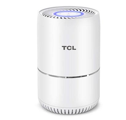 tcl kj65f portable room air purifier (white)