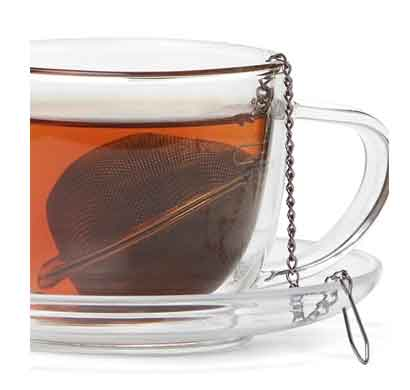 teabox tebii2 elegant ball shaped infuser stainless steel