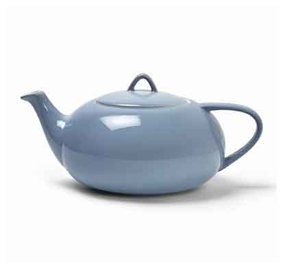 teabox moonset teapot (mptm2) alice blue colored