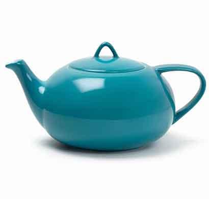 teabox moonset teapot (vibrant teal)