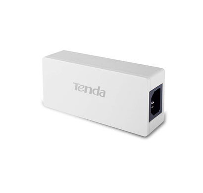tenda te-poe30g-at gigabit poe injector (white)