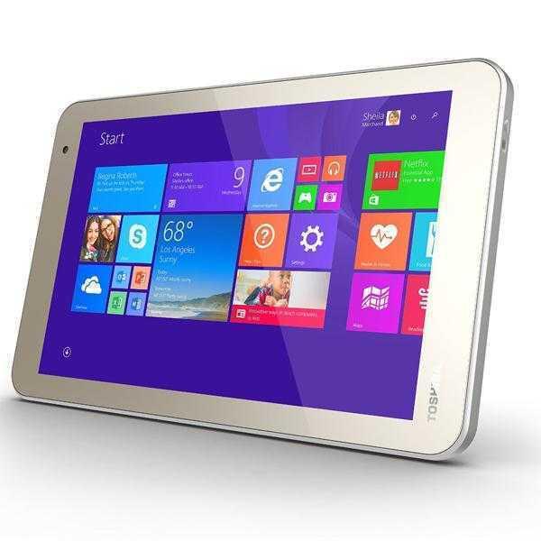 Toshiba WT8-B 32GB Wifi Tablet Satin Gold