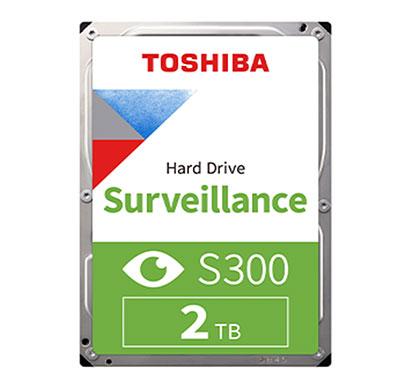 toshiba (hdwt720uzsva) s300 2tb 3.5 inch surveillance hdd