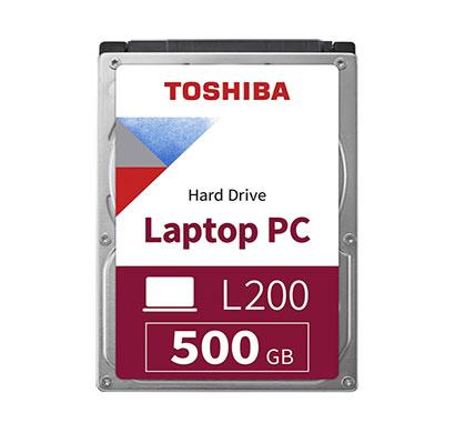 toshiba l200 500gb 5400rpm sata laptop hard drive (hdwk105uzsva)
